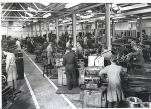 Part of the machine shop, OMT Maidenhead.